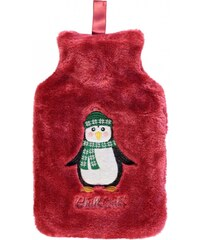 Stanford Home Novelty Applique Hot Water Bottle, penguin