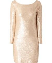 REVIEW Kleid mit Pailletten-Besatz