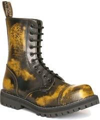 STEEL 10dírkové yellow ,obuv dámská - pánská