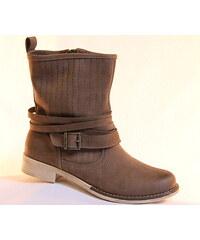 NIK 08-0207-001, dámské jarní kozačky, dámská obuv