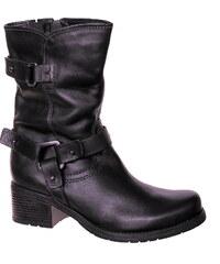 WENDEL MARCO TOZZI 25435-23 black antic, zimní dámské kozačky, dámská obuv