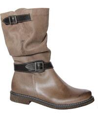 NIK 08-0115-015 , dámské kozačky, dámská obuv