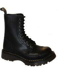 STEEL clic 10dírkové black, obuv pánská