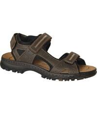 RIEKER 25063-25 brown combi, pánské sandály, pánská obuv