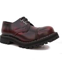 STEEL 3dírkové red/black, obuv dámská - obuv pánská