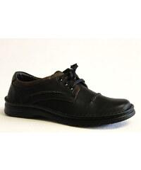 KRISBUT 4559-1 black, pánské polobotky - pánská obuv