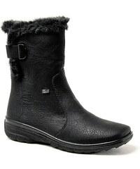 RIEKER Z7079-00 black, dámské zimní kozačky - dámská obuv