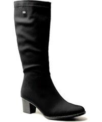 RIEKER Z7694-00 black, dámské zimní kozačky - dámská obuv