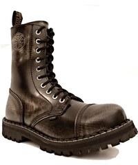 STEEL 10dírkové white/black, obuv dámská - pánská vel.38