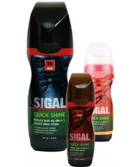 SIGAL Quick Shine tekutý lesk na obuv 75ml