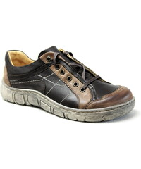 KACPER 2-1197 brown, dámské polobotky, dámská obuv