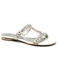 TAMARIS 27191-26 rose metallic, dámské pantofle - dámská obuv