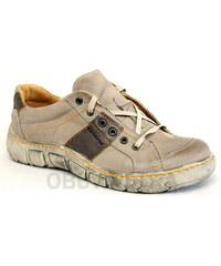 KACPER 2-1198 brown, dámské polobotky - dámská obuv