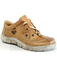 KACPER 2-1195 brown, dámské polobotky - dámská obuv