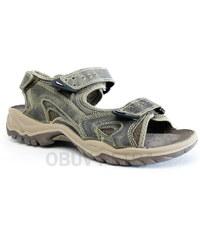 NUMERO UNO NAUTIC KHAKI NT81322 573, pánské sandály - pánská obuv