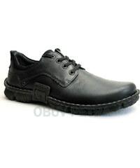 JOSEF SEIBEL 14152 710 600 Willow 30 schwarz, pánské polobotky - pánská obuv