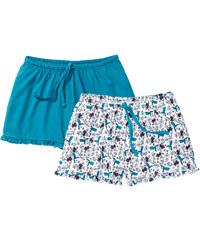 bpc bonprix collection Shorts (2er-Pack) in blau für Damen von bonprix