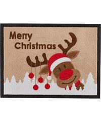 bpc living Fußmatte Merry Christmas in braun von bonprix