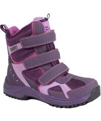Bugga Dívčí zimní boty s membránou - fialové