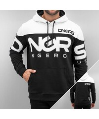 Dangerous DNGRS Gino Hoody Jet Black/White