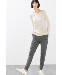 Esprit Pletené joggingové kalhoty s podílem vlny