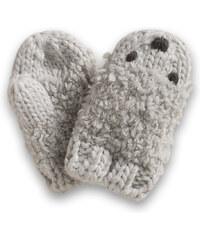 Esprit Hebké pletené palčáky, zvířecí obličejík