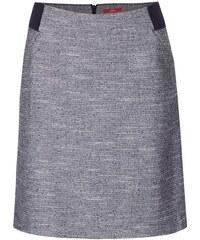 Modro-šedá žíhaná sukně s.Oliver