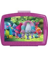 Trolls Pausenbrotbox violett in Größe UNI für Mädchen
