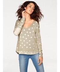 Damen Oversized-Pullover RICK CARDONA natur 34,36/38,40/42,44/46,48/50,52/54