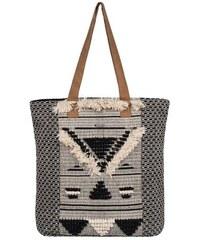 ROXY Shopper Rama Cay schwarz-weiß Einheitsgrösse