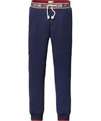 Scotch Shrunk Jungen Hose Bonded Sweat Pants with Special Intarsia Waistband