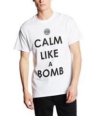 CID Herren T-Shirt Rage Against the Machine-Calm Like A Bomb