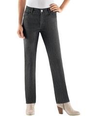 Damen Collection L. Jeans mit schimmernden Metallplättchen COLLECTION L. grau 19,20,21,22,23,24,25