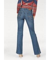 Arizona Damen Bootcut-Jeans Lulu blau 34,36,38,40,42,44,46,48