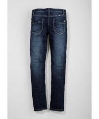 S.OLIVER RED LABEL JUNIOR RED LABEL Junior Suri: Stretch-Jeans mit Kontrastnaht für Mädchen blau L (164),M (152),M (158),XL (170),XL (176),XS (134)