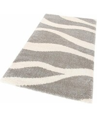 Hochflor-Teppich Collection Ramona Höhe 40 mm gewebt HOME AFFAIRE COLLECTION grau 8 (B/L: 280x380 cm)