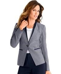 ALESSA W. Damen Alessa W. Blazer mit Umschlag blau 36,38,40,42,44,46,48,50,52,54