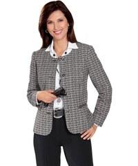 Damen Classic Blazer mit streckenden Teilungsnähten CLASSIC braun 38,40,42,44,46,48,50,52,54