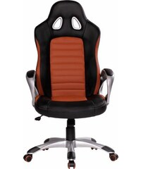 AMSTYLE Amstyle Chefsessel Racer braun