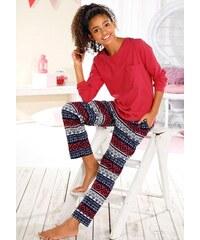 Pyjama Buffalo rot 122/128,134/140,146/152,158/164,170/176