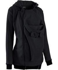 bpc bonprix collection Těhotenská flísová bunda s baby vsadkou, pro těhotenství i po něm bonprix