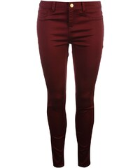 Golddigga Jean Jegging Ladies, burgundy