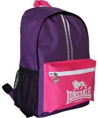 Lonsdale Pocket Backpack, purple/pink