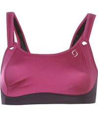 Moving Comfort Comfort Juno Bra Womens, currant woven