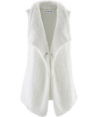 bpc bonprix collection Gilet sans manches multi-matière - designed by Maite Kelly blanc femme - bonprix
