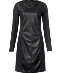 Street One Kleid im Lederlook Ivette - Black, Damen