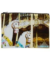 Millscellanees Carousel - Pochette en lin mélangé - imprimé