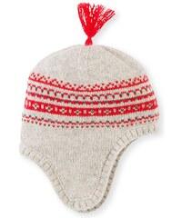 Petit Bateau Bonnet en laine mélangée - tricolore