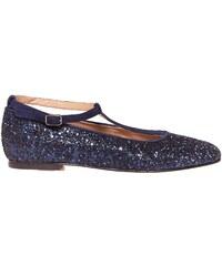 Bichette Linotte - Ballerines en cuir - bleu