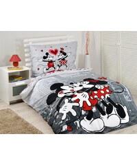 Jerry Fabrics JerryFabrics povlečení Mickey a Minnie v NY bavlna 140x200 70x90